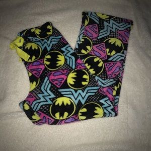 DC comics pajama pants